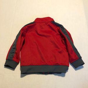 Nike Jackets & Coats - 4/$10 Nike 18 mo track jacket red and grey boys